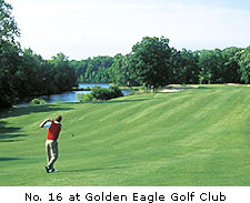 No. 16 at Golden Eagle Golf Club