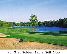 No. 5 at Golden Eagle Golf Club