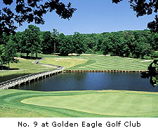 No. 9 at Golden Eagle Golf Club