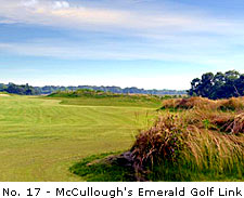 No. 17 - McCullough's Emerald Golf Links